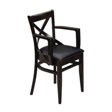 כסא עם ידיות לבית קפה - פראג