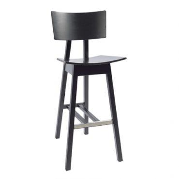 כסא בר עץ - דגם טורו