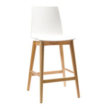 כסא בר עץ - ניס