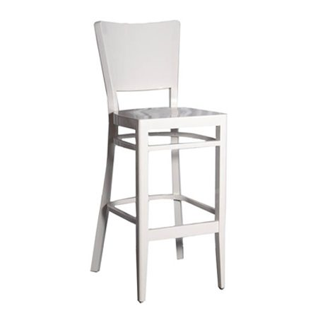 כסא בר עץ לבן - נפאל