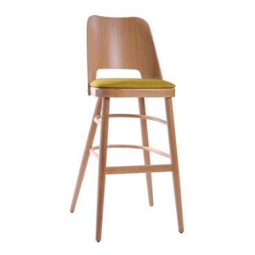 כסא בר עץ - דגם סינמה