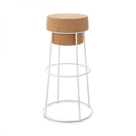 כסאות למסעדות - כסא בר פקק