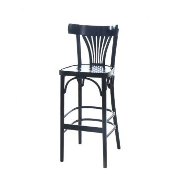 כסא בר עץ - דגם וינה