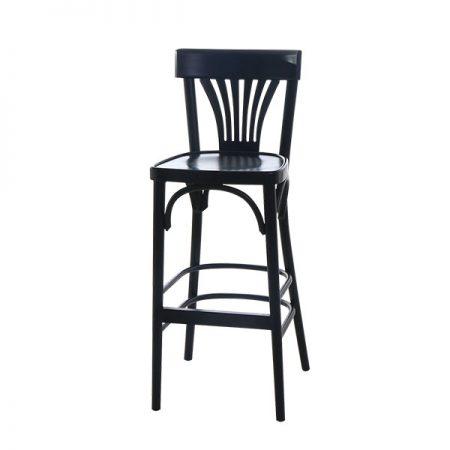 כסא בר עץ - מניפה
