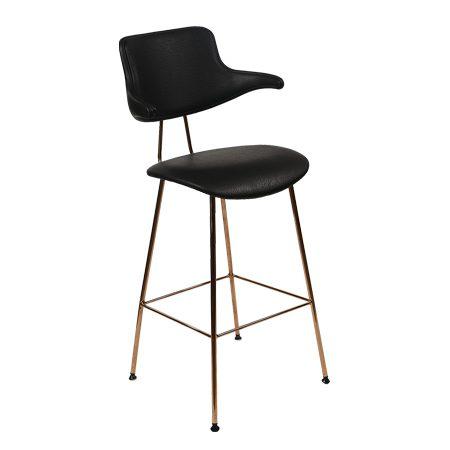 כסא בר מתכת - סקופ אפ