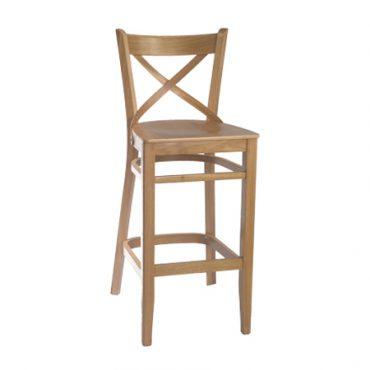 כסא בר פראג עץ אלון