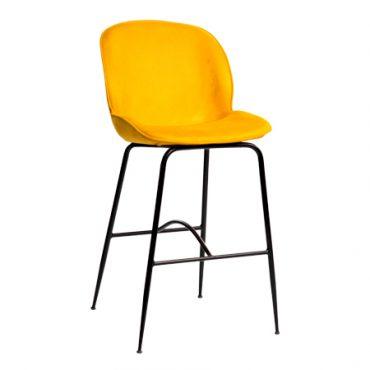 כסא בר מתכת - ביטל