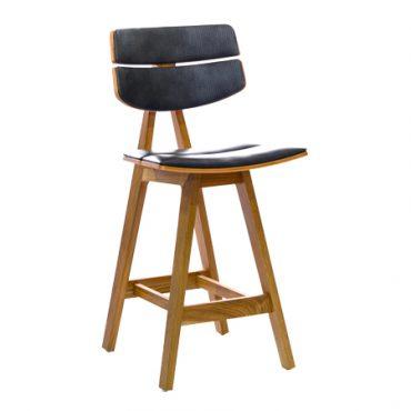 כסא בר עץ - ווילי אפ