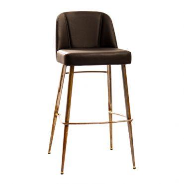 כסא בר מתכת - יוני