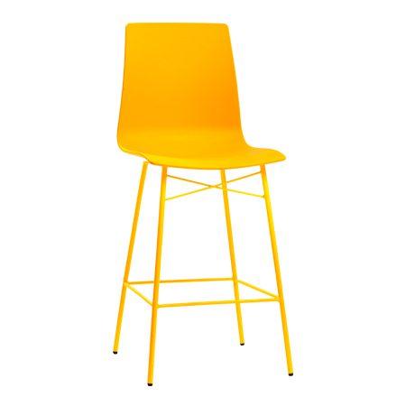 כסא בר מתכת - ניס מט