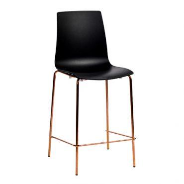 כסא בר מתכת - ניס מט קופר