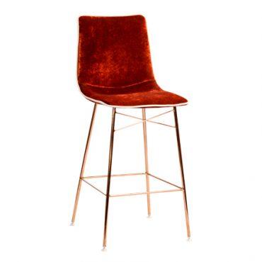 כסא בר מתכת - גומבה