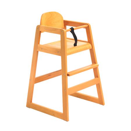 כסא בר עץ לתינוק