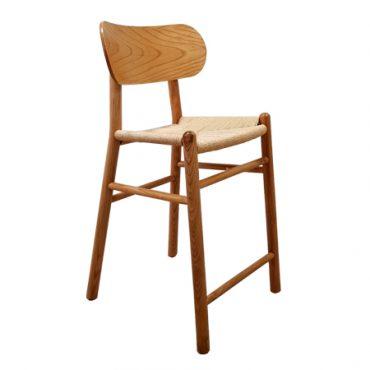 כסא בר עץ - דגם בינגו