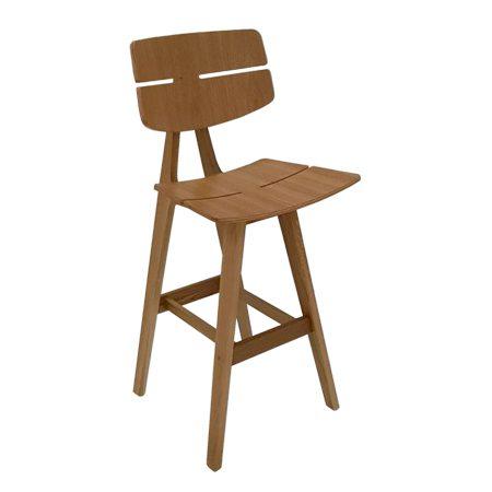 כסא בר עץ - דגם ווילי