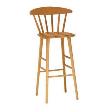 כסא בר עץ - דגם יונית