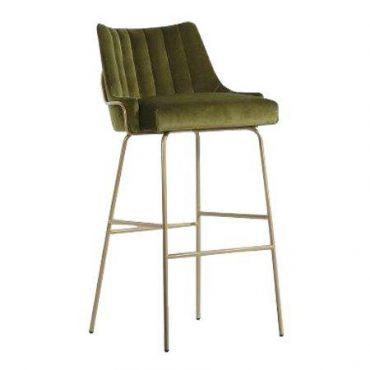 כסא בר מתכת - לובר