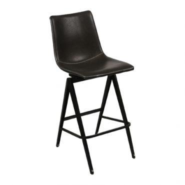 כסא בר מתכת אנג'ל חלק רגל פוסידון