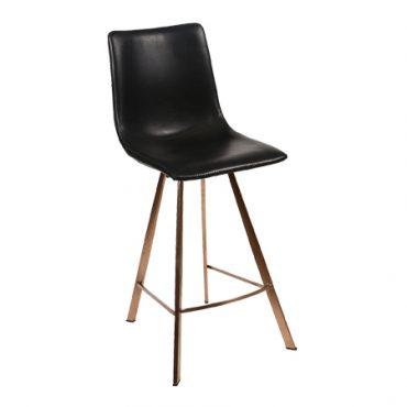 כסא בר מתכת - אנג'ל רגל פרמידה