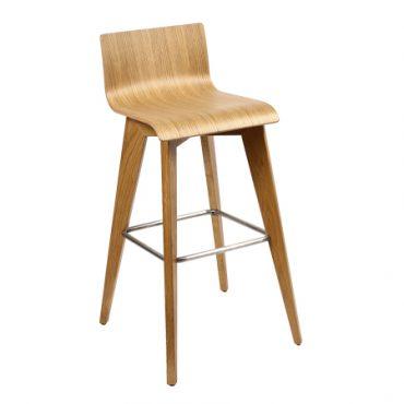 כסא בר עץ - דגם טובי