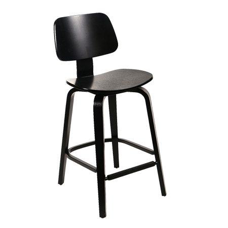 כסא בר עץ - דגם קולינס