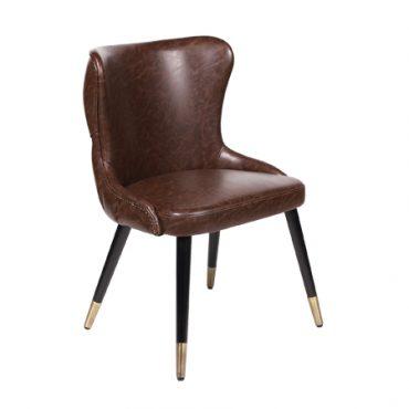 כסא מרופד לפינת אוכל - פישטל
