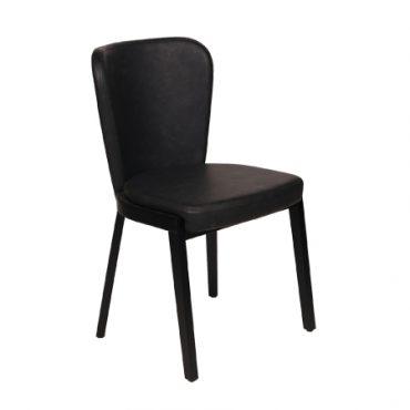 כסא מרופד לפינת אוכל - לווה