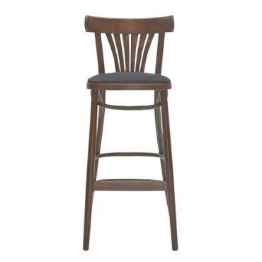 כסא בר עץ - דגם BST-788 FAN