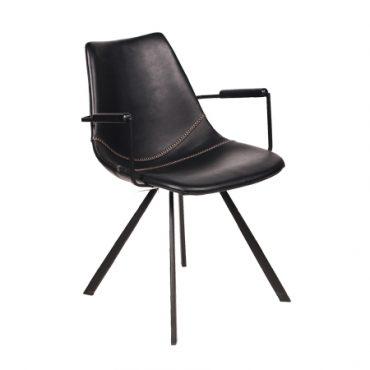 כסא עם ידיות דגם בול