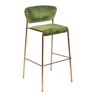 כסאות בר מתכת מרופדים