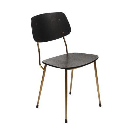 כסא מורגן רגל פליז