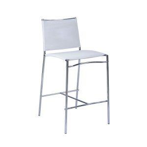 כסא בר אלכס לבן
