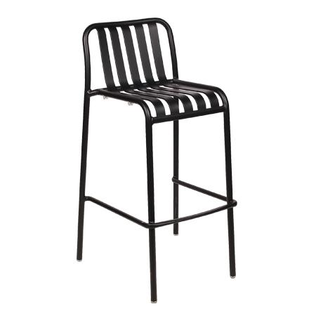 כסא בר מתכת - בר סטריפ
