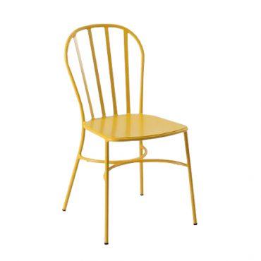 כסא מתכת יפהפה