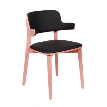 כסא מרופד לפינת אוכל - סאן ידיות