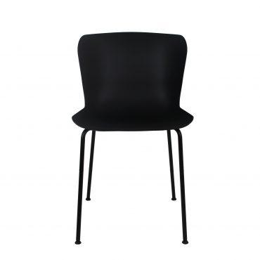 כסא לפינת אוכל טוק שחור