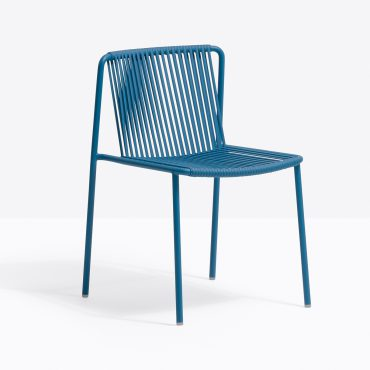 כסא מתכת כחול - קארין