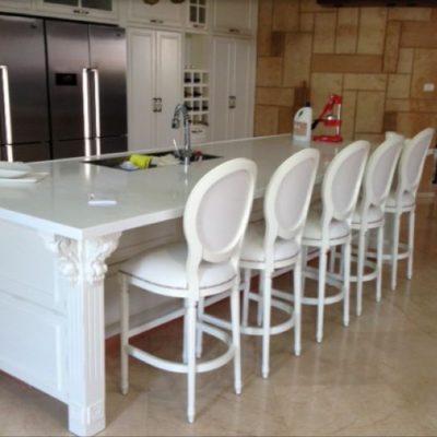 כסאות בר מפוארים למטבח
